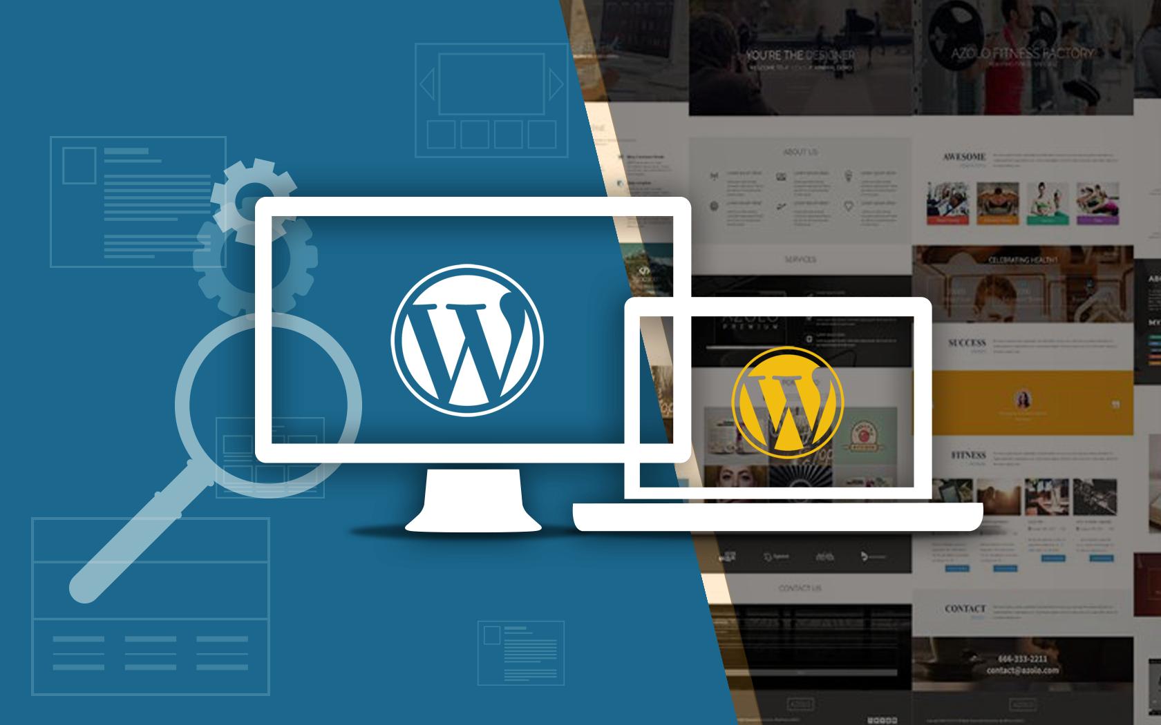 WordPress – build your website within few clicks